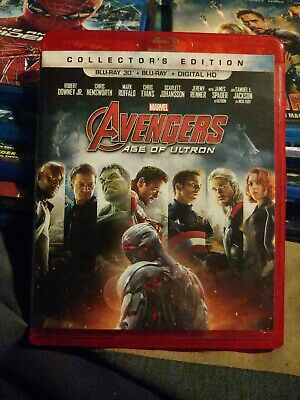 Avengers Age of Ultron (3D Blu-ray + Blu Ray) Collectors Edition