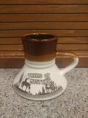 Vintage Trees Of Mystery Mug Made in Taiwan !! Awesome !! Look !!