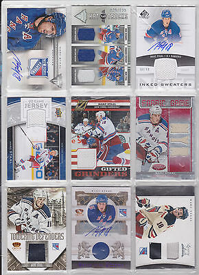 Marc Jordan Staal 27 Cards Titanium Reserve Crown Auto Luxury Stick Jersey