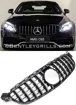 Mercedes W205 C Class Amg 63 Grille Amg W205 C63 Panamericana Grill C63 Only