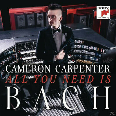 Cameron Carpenter - All You Need Is Bach - (CD)