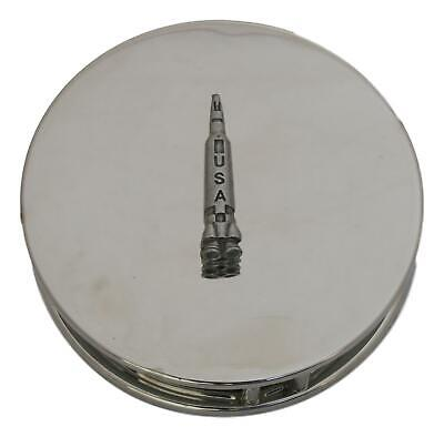 Space Rocket Chrome Plated Magnifying Glass Desktop Space Gift 419