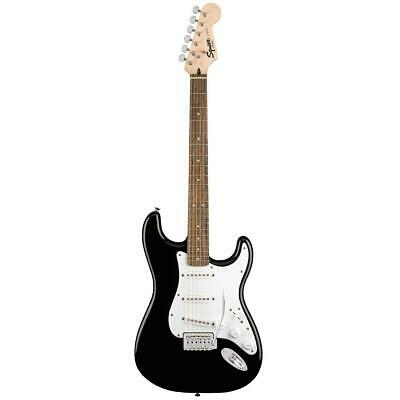Squier Stratocaster 6-String Electric Guitar Pack, Black #037-1823-006