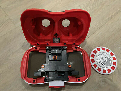 Mattel View-Master Virtual Reality VR Viewer headset for Smartphones Red