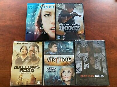 Unplanned DVD + Digital Gallows Road Virtuous Dead Man Rising 1 Hit Home New