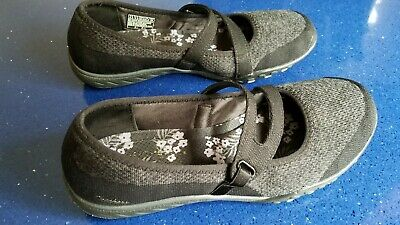 SKECHERS WOMENS RELAXED Fit Lucky Lady Mary Janie Sneaker Sz 8.5