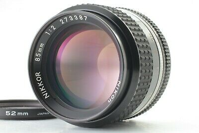 NIKON AI-S NIKKOR 85mm F/2 MF Lens From Japan【For Parts】