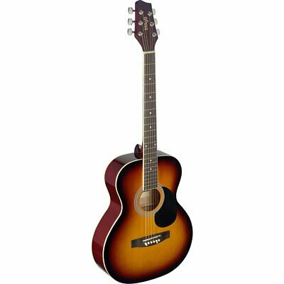 Stagg SA20A SNB Auditorium Acoustic Guitar with Linden Top Sunburst Full Size