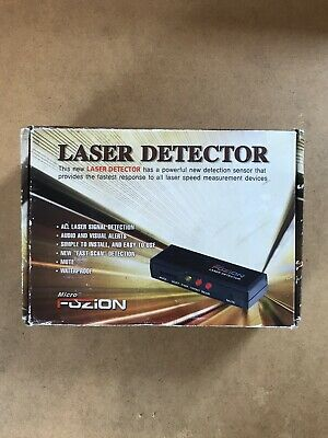 New Rare Microfuzion Laser Detector For Car Or Bike Rear & Front Safety Parking