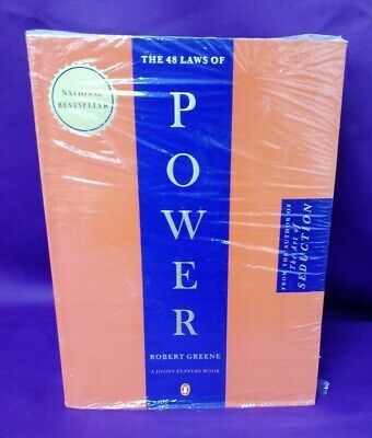 The 48 Laws of Power, 1st Edition, by: Robert Greene