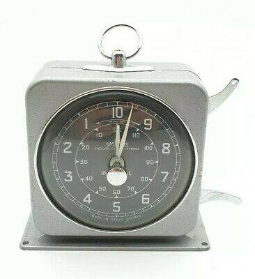 Vintage 50's Retro Smiths Interval Timer English Clock Systems *Great Condition*