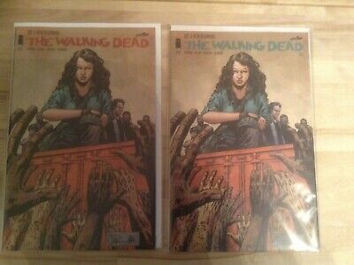 The Walking Dead Comic #127 1st & 2nd Prints. Bagged and Boarded. Never Read