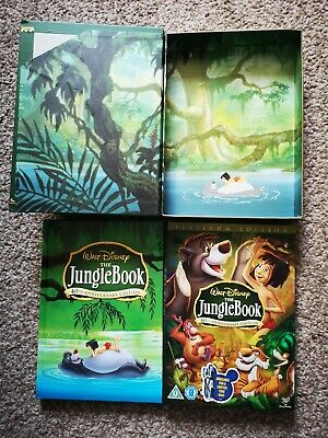 Disney The Jungle Book 40th Anniversary Collector's Edition DVD and Book Set Ltd