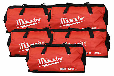 Milwaukee 22 Inch Heavy Duty Contractor Fuel Tool Bag 5 Pack. 6 Interior pockets
