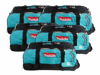 5 Pack Makita 831269-3 Large LXT Tool Bag With Wheels for Cordless 18V Tools