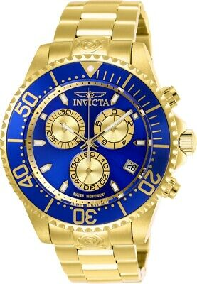 Invicta 26849 Swiss ETA G10 Pro Diver Men's 47mm Chronograph Watch