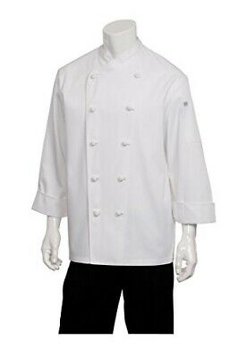 Chef Works Men's Nice Chef Coat (COPK) 4XL