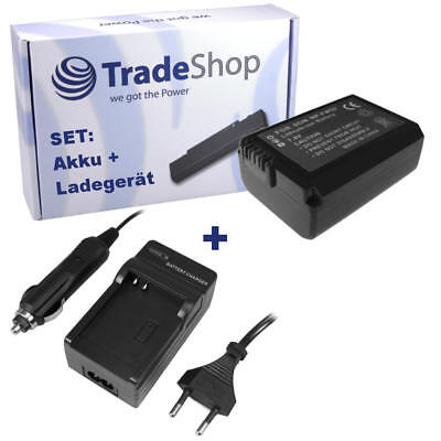 Batterie + Chargeur pour Sony NP-FW50 NPFW50 NP-FW-50