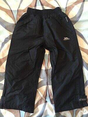 Boys Age 2-3 Trespass Waterproof Overtrousers
