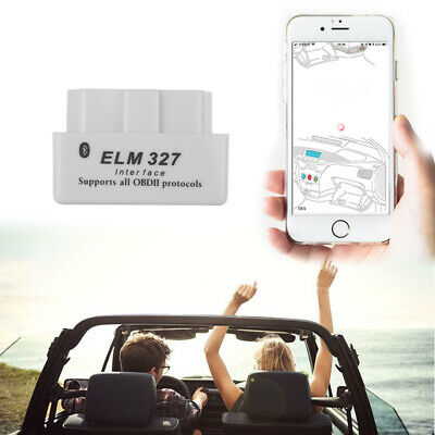 Scan Tool Mini Bluetooth ELM327 Interface Car Diagnostic Scanner OBD2 OBDII