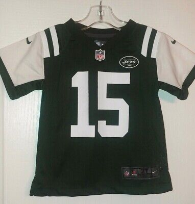 NWOT Boys Size 3T NFL New York Jets Football Jersey 15 Tebow