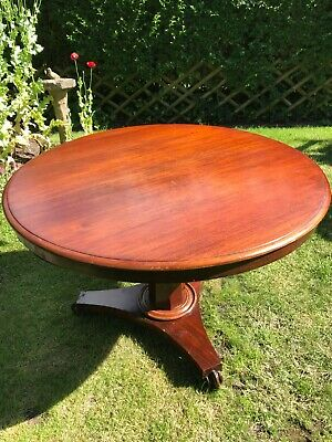 Antique William IV tilt top breakfast table
