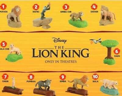 *CLEARANCE* PICK & CHOOSE $1.75 EA + SH McDonalds 2019 Lion King Happy Meal Toys