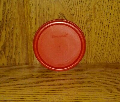 TUPPERWARE REPLACEMENT LID ~ MODULAR MATE ROUND SEAL #1607 ~RED (prev owned)