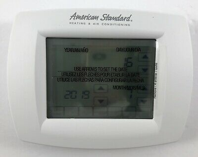 American Standard ACONT800 Touch Screen Programable Comfort Control