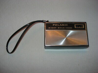 Vintage POLARIS Eight Solid State Transistor Pocket Hand Radio
