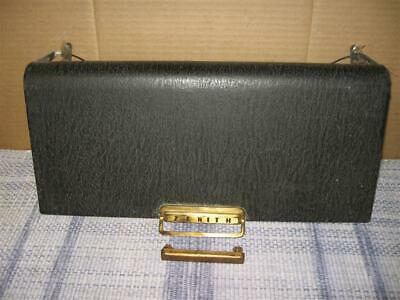 """Vintage Zenith Transoceanic Radio Door Selling """"AS IS"""" For Parts Original"""