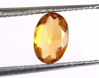 Natural Gemstone Flawless Citrine Oval Cut Stone 4X6 Mm - 1 Pc #470-B