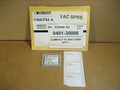 Allen Bradley 1784-CF64 Series A Compact Flash Card  -  NEW