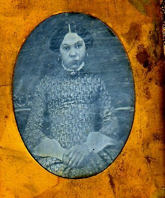 African American Daguerreotype Phenomenal Ninth Plate Beautiful Slave
