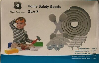 Baby Safety Locks Kit (21 Pieces),12 Outlet Covers, 4 Clear Corner Protectors...
