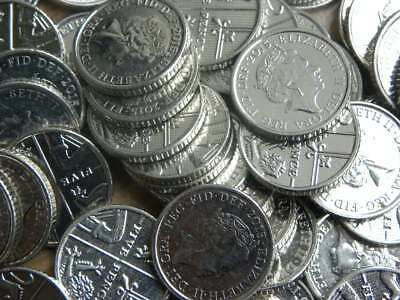 5p Coin Five Pence Coin Circulated 1990 - 2017