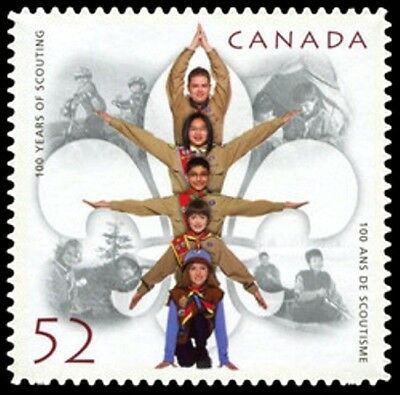 Canada  # 2225i  100 YEARS OF SCOUTING  New Issue  2007  Die Cast