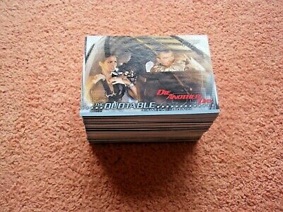 007 James Bond Die Another Day 90 Card Base Set