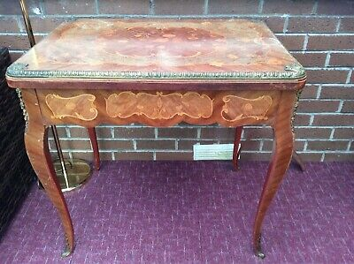 19Th Centuary Marquetry Inlaid Card/Games Table