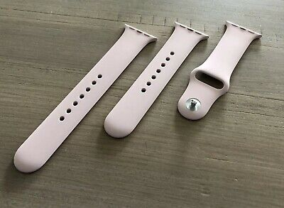 Original Apple Watch Armband 40 mm Sportarmband, Sandrosa – S/M und M/L