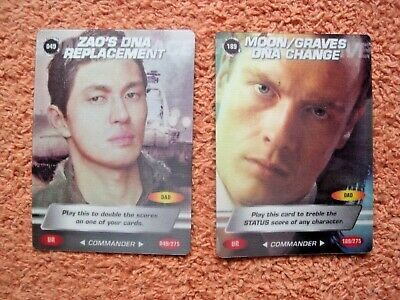 007 James Bond Spy Cars 2 Ultra Rare Ur Cards 049/275 & 189/275