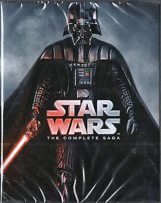 Star Wars The Complete Saga Region free Blu-ray BluRay *NEW SEALED* 9 Disc Set