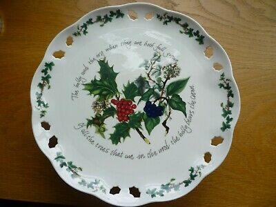Portmeirion The Holly & The Ivy Cake Plate Stand