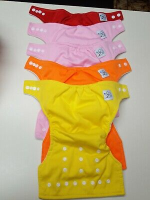 Baby City Cloth Diapers With Inserts Set 5