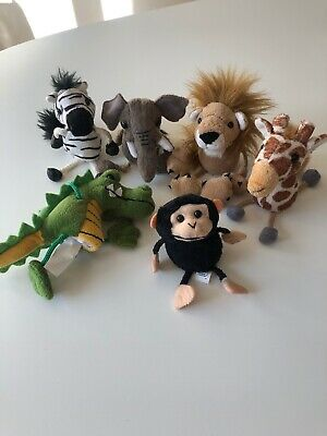THE PUPPET COMPANY - African Animal set of 6 Finger Puppets