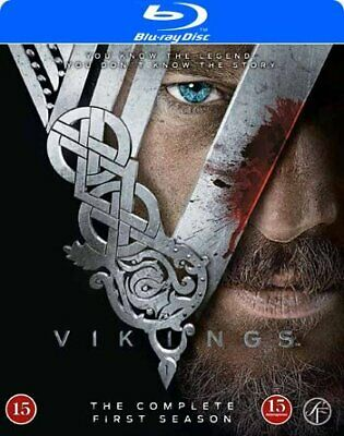 Vikings Season 1 Bluray 3 DISCS *NEW SEALED* 5704028217239 Blu-ray Region B/2