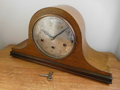 1920s Napoleon Hat Mantle Clock Westminster Chimes Haller AG Germany Working