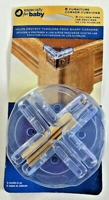 Especially For Baby 8 Furniture Corner Cushions 6 Months & Up Clear New in Box