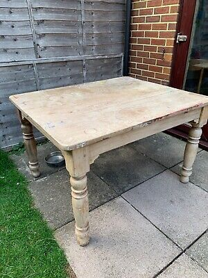 Antique pine table