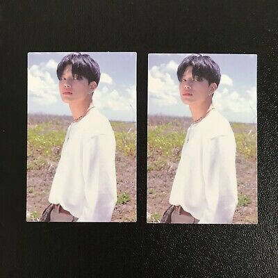 Ateez Treasure Ep.3: One To All Album Wave Ver. - Wooyoung Mmt Photocard